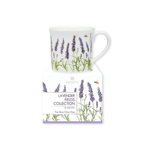 Lavender Fields Wide Flare Mug
