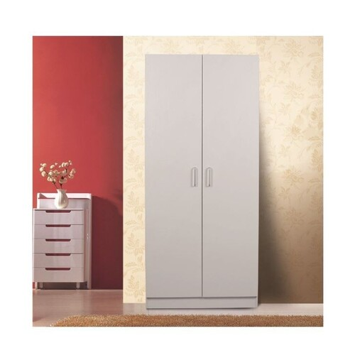 Kensington 2 Door Wardrobe White