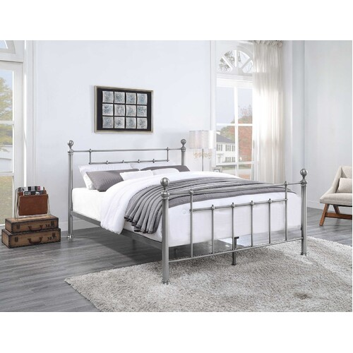 Chadstone Pewter Bed Frame