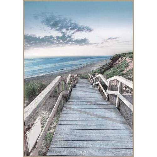 Boardwalk Framed Canvas