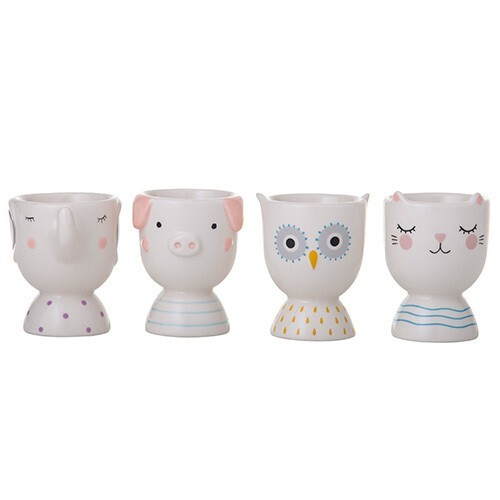 Animal Friends Egg Cups Set of 4
